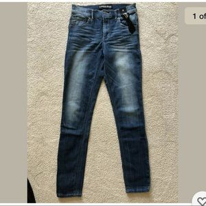 Express Jeans Legging Jeggings Hi Rise Wash Skinny
